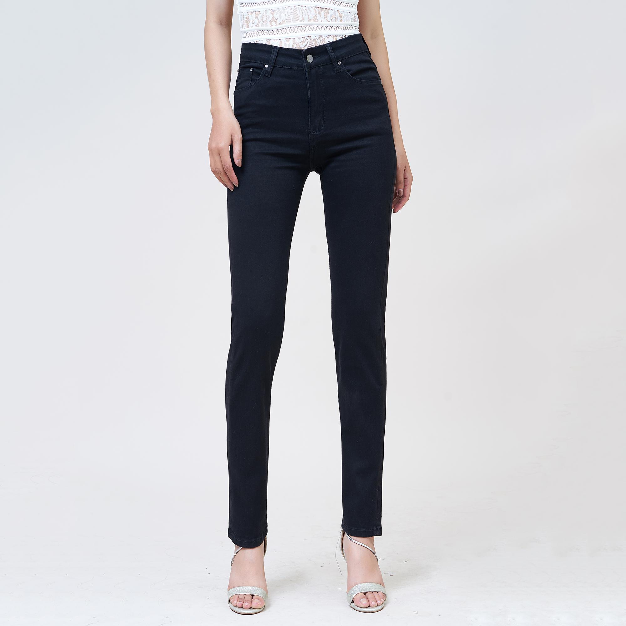 Quần Jean Nữ Ống Đứng Lưng Cao Aaa Jeans Có Nhiều Màu Size 26 - 32 1