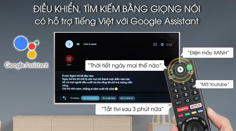 Android Tivi Sony 4K 43 inch KD-43X8500G - Hàng chính hãng