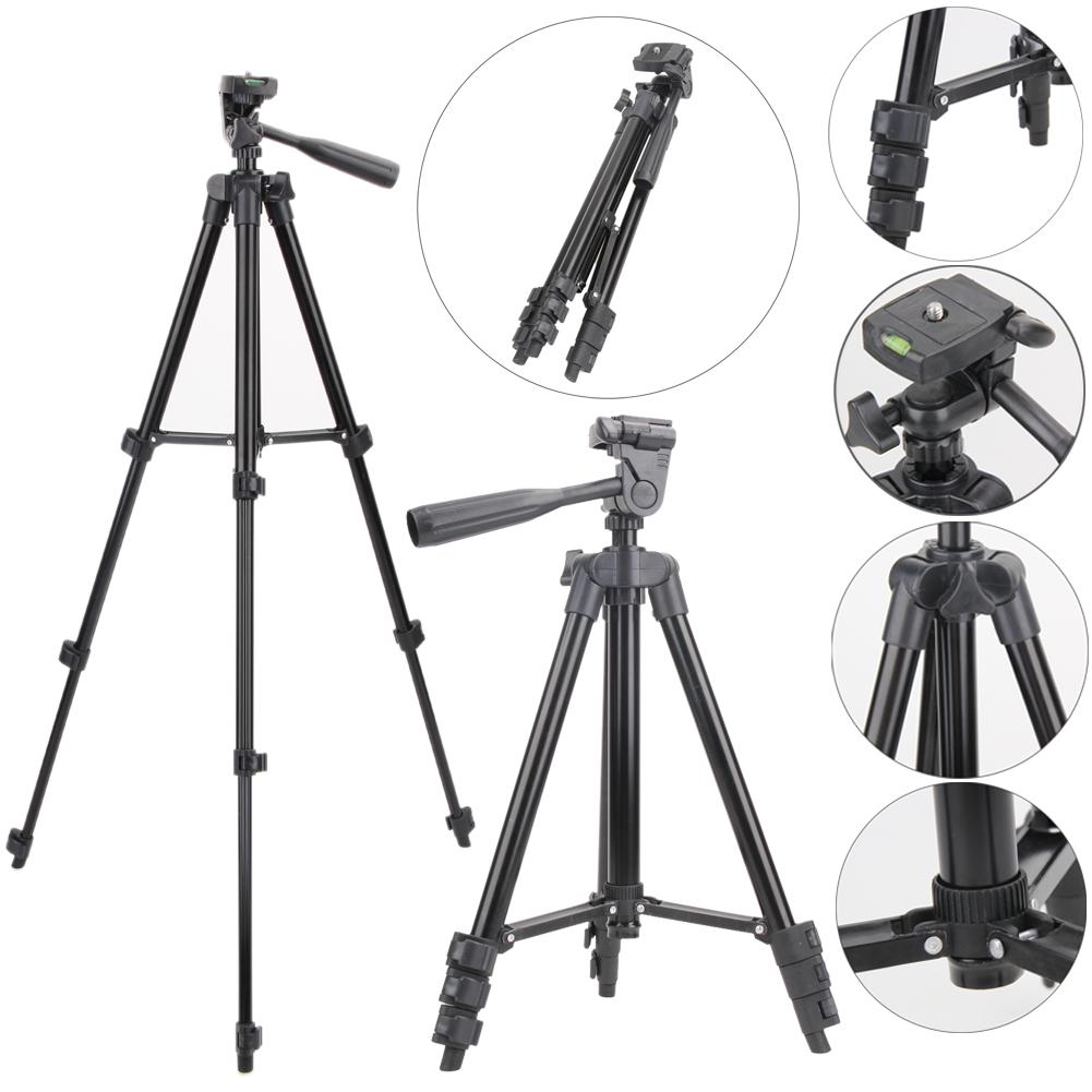Combo Bộ Giá đỡ chụp hình cho điện thoại, máy ảnh Tripod 3120 và Remote bluetooth = 139.000đ