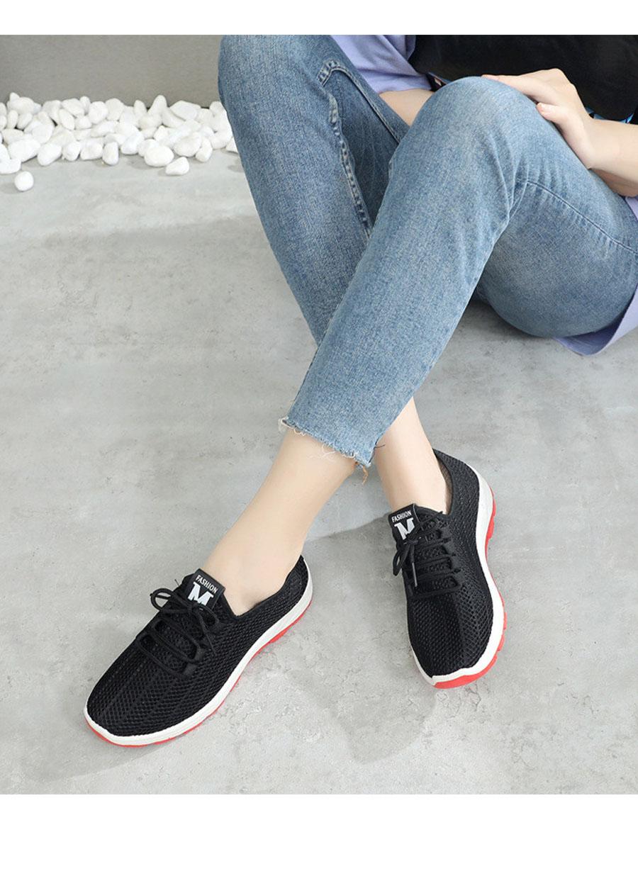 Giày sneaker nữ phong cách thể thao thoáng khí 197 9