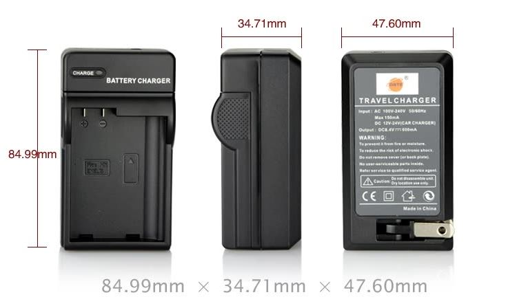 Diste (dste) Nikon D850 D800 D7500 D7200 camera EN-EL15 two electric one rechargeable battery set