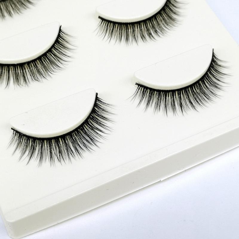 Lông mi giả lông chồn 3 Fashion Eyelashes 3 Faux-Cils 3D 1 bộ 3 cặp 103
