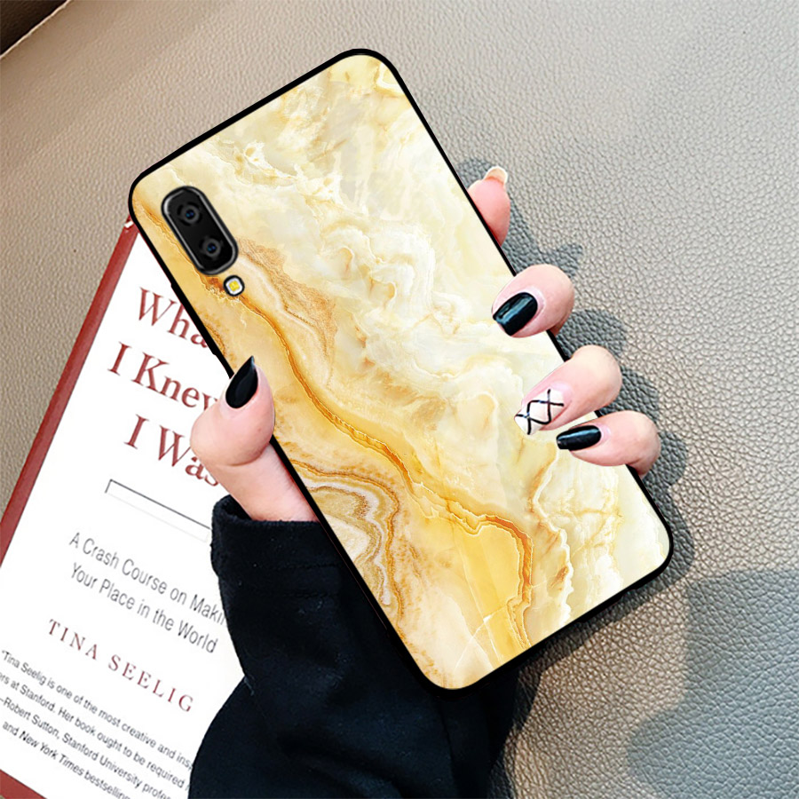 Ốp điện thoại dành cho máy Samsung Galaxy A70 - hình vân Đá MS VANDA039
