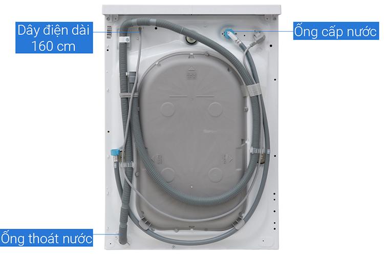 Máy Giặt Cửa Trước Inverter Electrolux EWF7525DQWA (7.5kg)-Hàng Chính Hãng