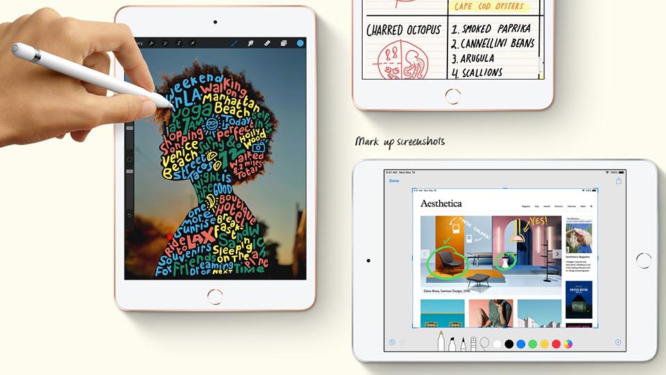 iPad Mini 5 Wi-Fi 64GB -  Hàng Chính Hãng