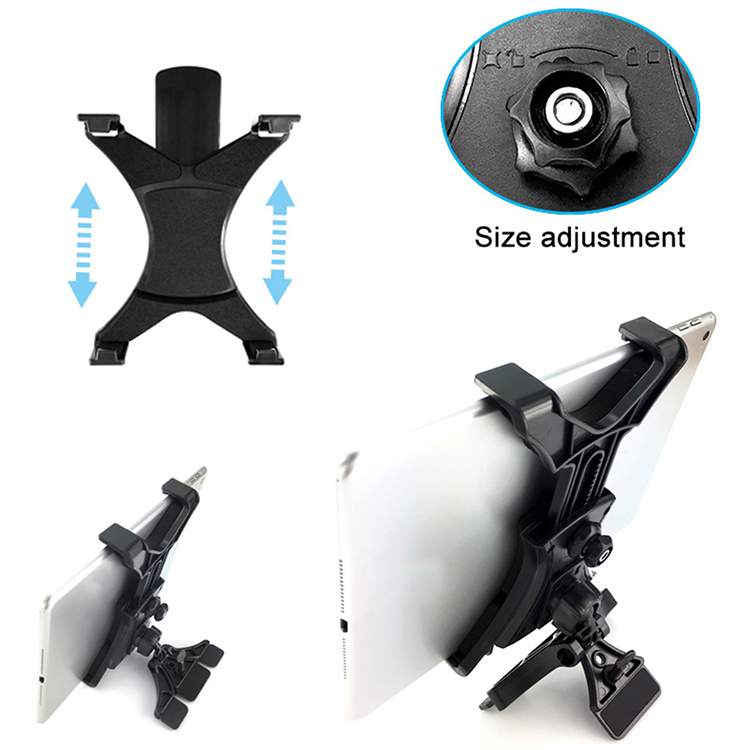 Tablet PC Stand Tablet PC Holder Creativity CD Slot Mount 360 Degrees Rotation Desk Bracket