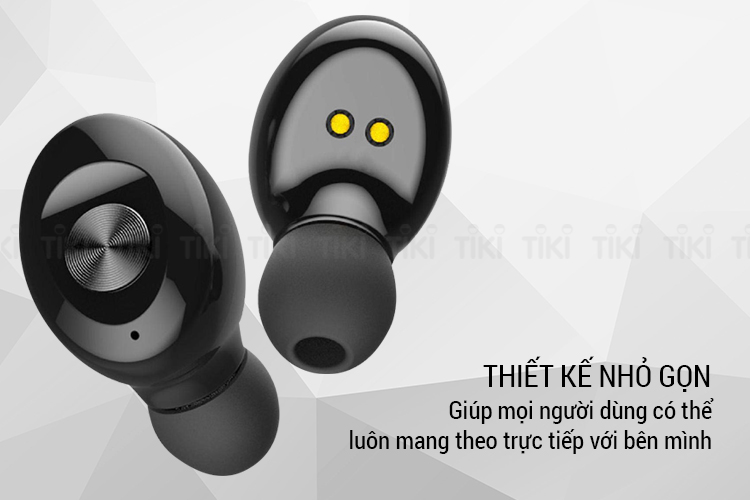 Tai Nghe Bluetooth TWS XG-12 Wireless Sport Headphone V5.0 - Hộp sạc 350mAh