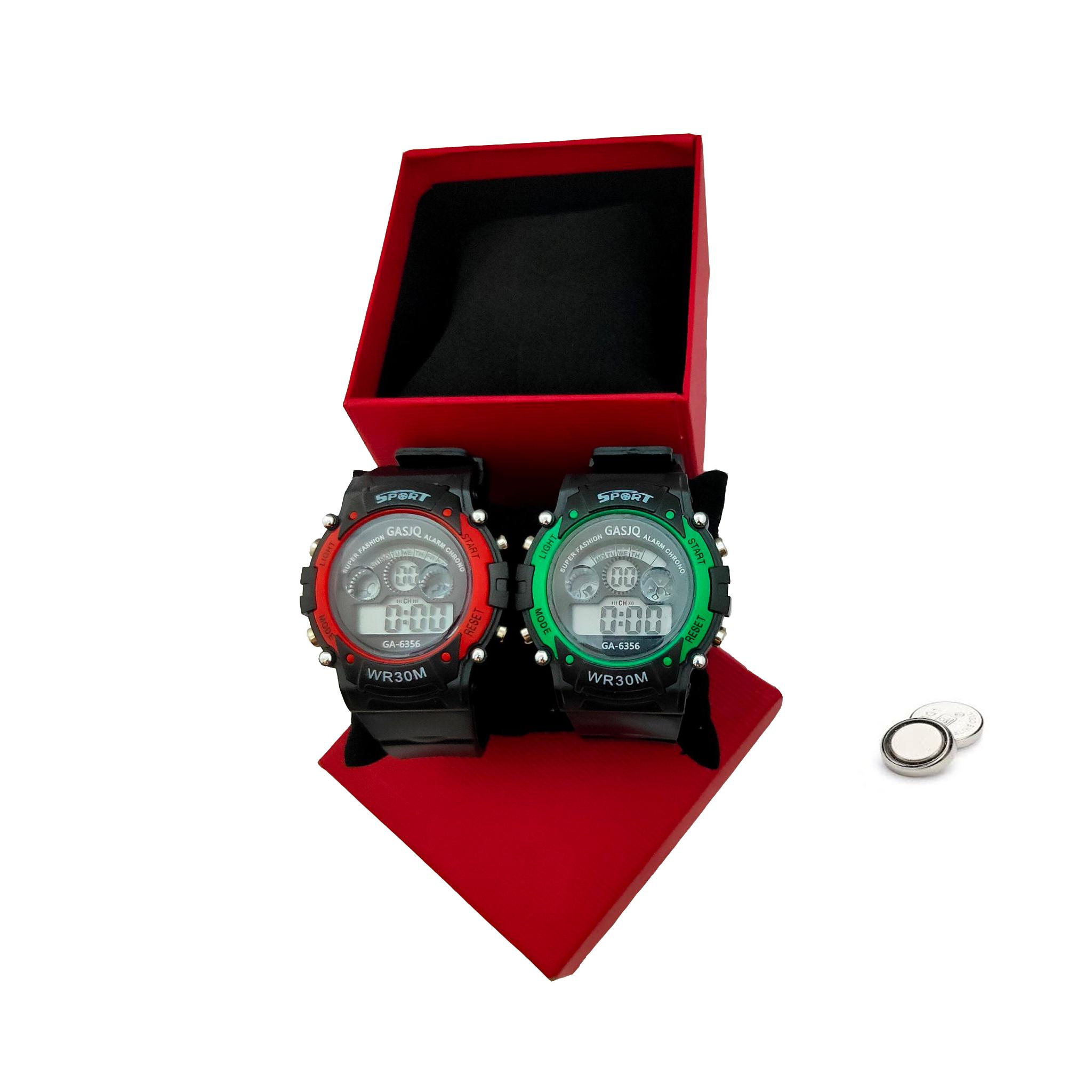 Đồng hồ trẻ em_ Tặng bộ lắp ghép mô hình 5