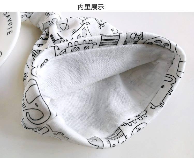 Set 3 Mũ Che Thóp Cho Trẻ Sơ Sinh 0-6 Tháng (Hàng Loại Tốt)- Họa Tiết Bé Trai 3