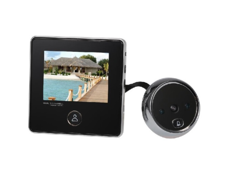 3.0 inch TFT LCD Digital Door Eye Peephole Viewer 120° Wide Viewing Angle Door Eye Doorbell Camera IR Night Vision Photo Taking Su
