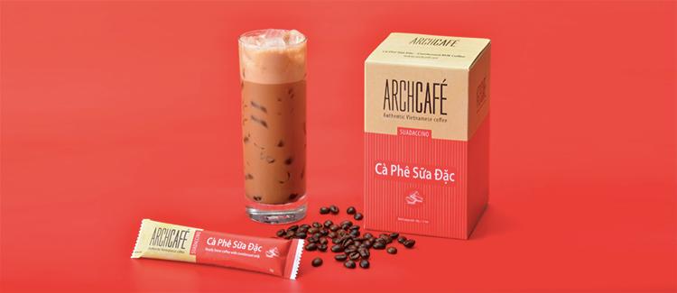 Cà Phê Sữa Đặc Archcafé (12 gói x 18g)