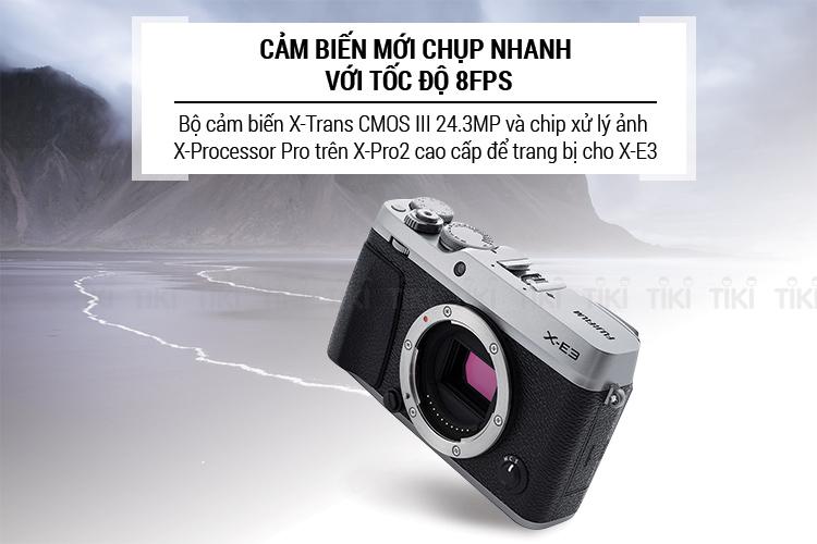 Máy Ảnh Fujifilm X-E3 Body - Hàng Chính Hãng