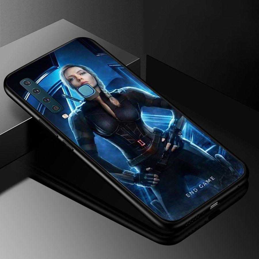 Ốp kính cường lực dành cho điện thoại Samsung Galaxy A9 2018/A9 Pro - M20 - avengers siêu anh hùng marvel - sah026