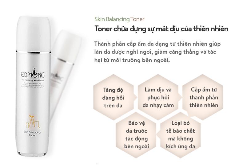 NướcHoa Hồng Dưỡng Da Da Edmong Skin Balancing Toner 130ml 3