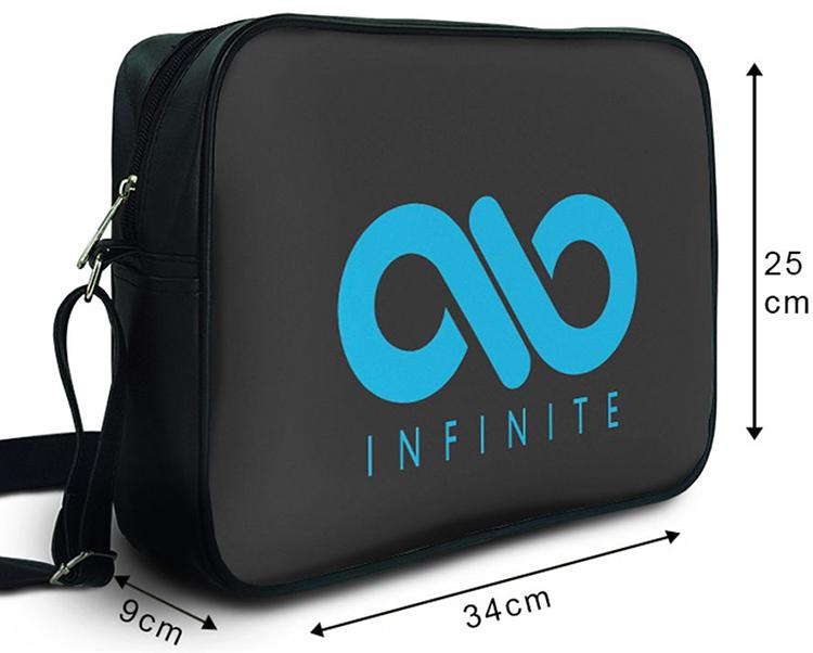 Túi Đeo Chéo Hộp Unisex Infinite - TCKL044