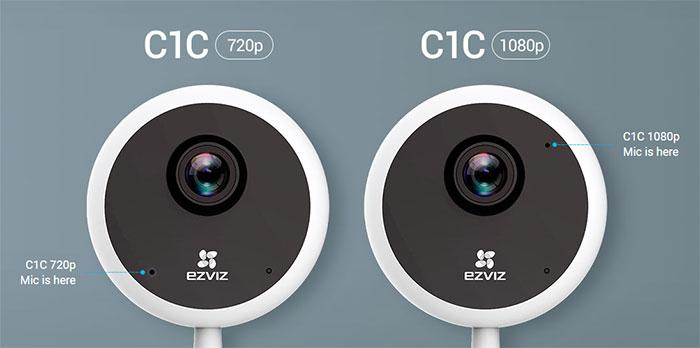 Camera IP Wifi EZVIZ CS-C1C-D0-1D1WFR (C1C 720P)
