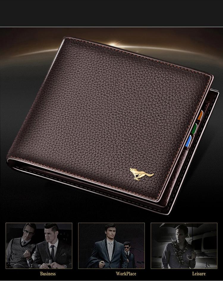 SEPTWOLVES men's wallet