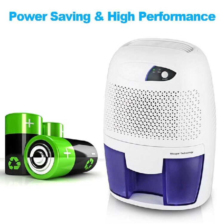 XROW-600B Electric Dehumidifier Compact & Portable Mini Air Dehumidifier for Damp Air Mold Moisture for Home Kitchen Bedroom Basem