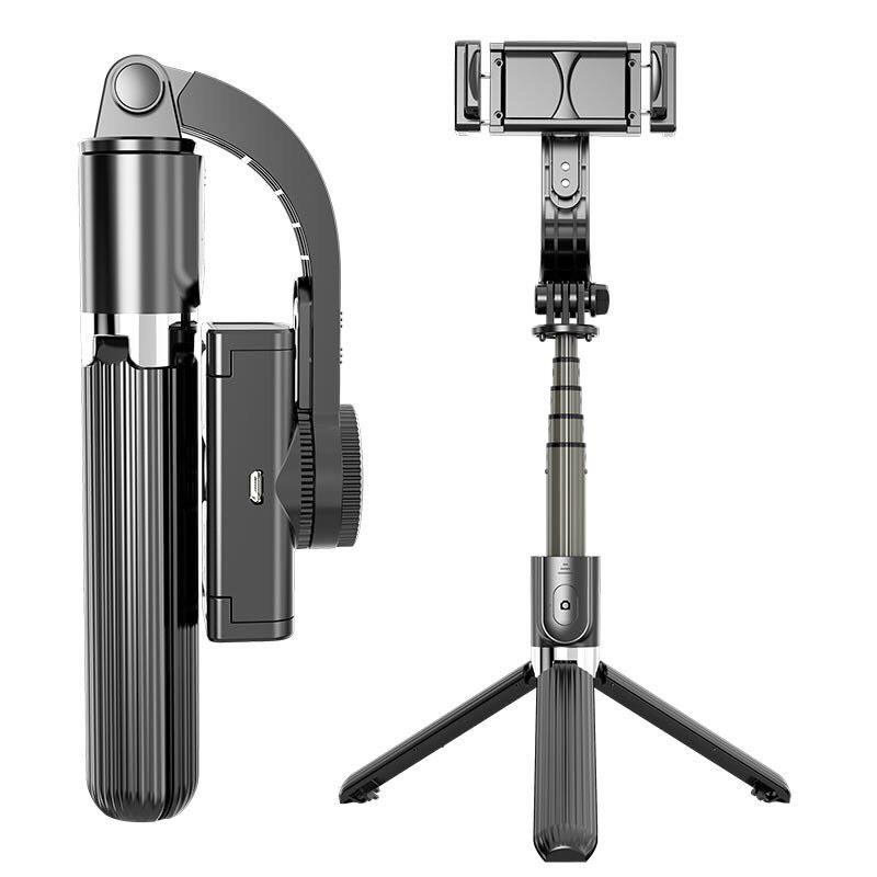 Gậy Selfie Chống Rung Điện Tử Gimbal L08 Có Bluetooth - Có Chân Đỡ Tự Đứng  - Kéo Dài Tới 86cm | VIETMART 668 | Tiki