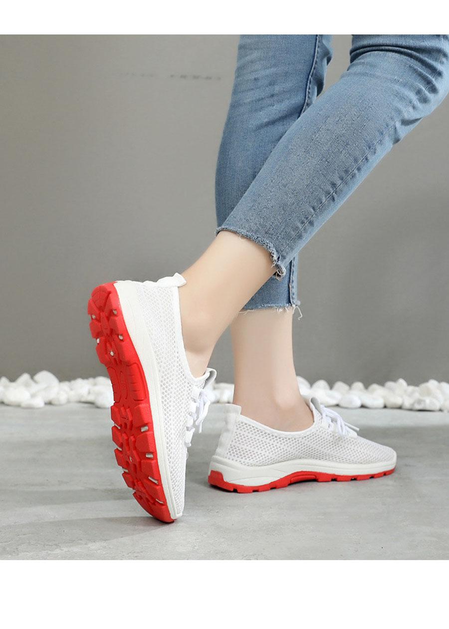 Giày sneaker nữ phong cách thể thao thoáng khí 197 1