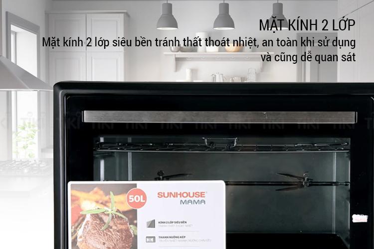 Lò nướng Sunhouse Mama SHD4250 (50L) - Hàng chính hãng