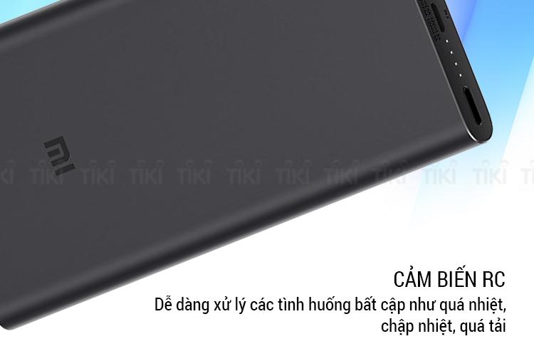 Pin sạc dự phòng 10.000mAh Xiaomi Mi Power Bank Gen 3 - Hàng nhập khẩu