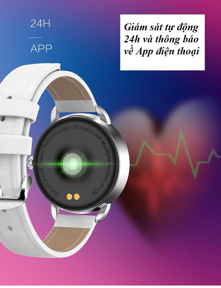 Đồng hồ theo dõi sức khỏe H7 (chống nước IP67) 10