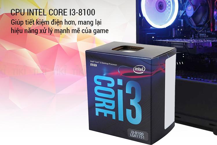 PC Gaming Xgear Sonic PUBG GTX 1050Ti 4GB Intel Core i3-8100 8GB 120GB SSD