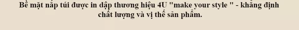 Túi Đeo Chéo Nam Thời Trang D267N (24 x 8 cm)
