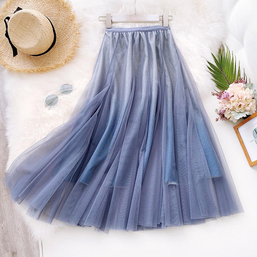 Váy xòe lưới tutu loang mầu lấp lánh VAY53 16