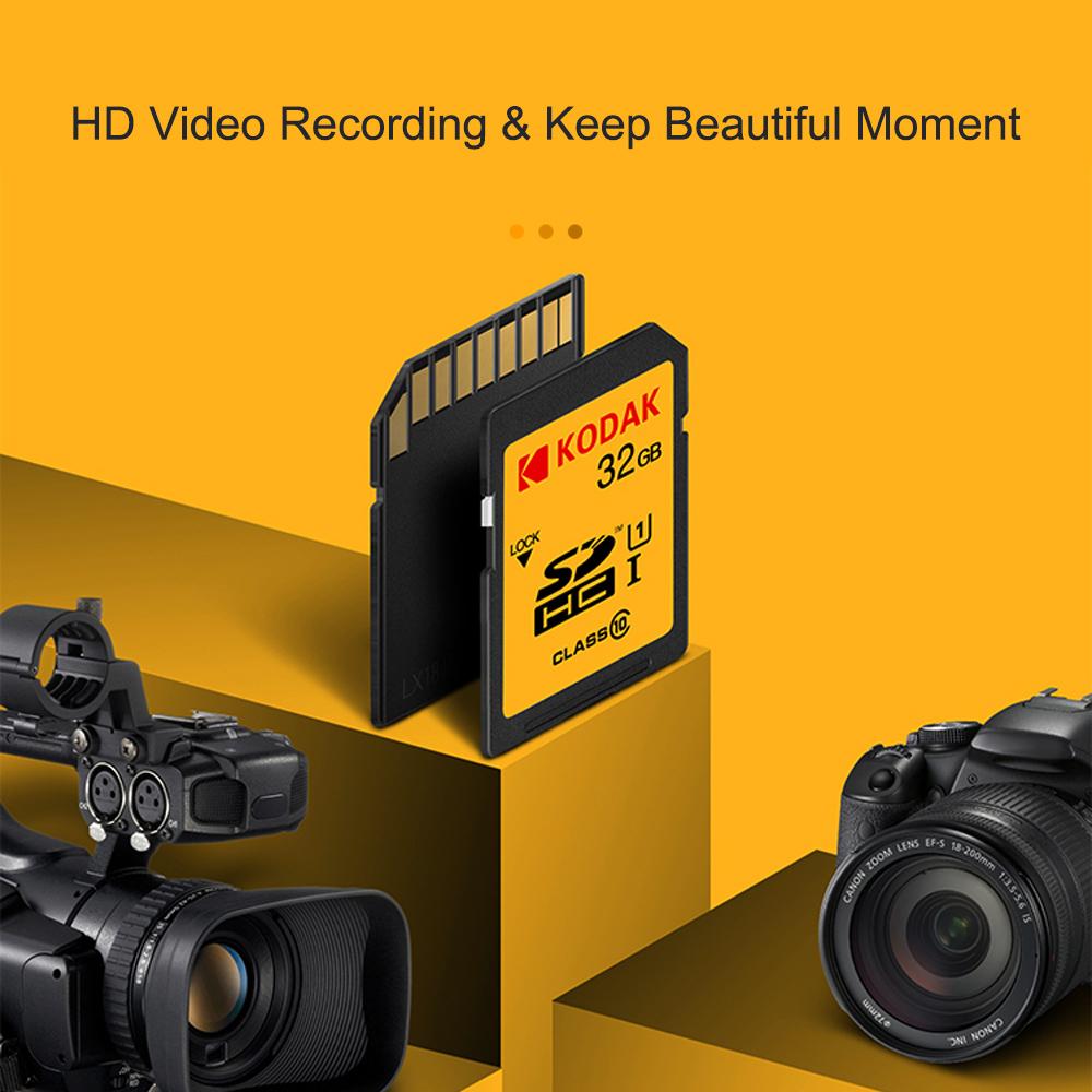 Thẻ Nhớ SD Kodak U1 Cho Máy Ảnh Kỹ Thuật Số