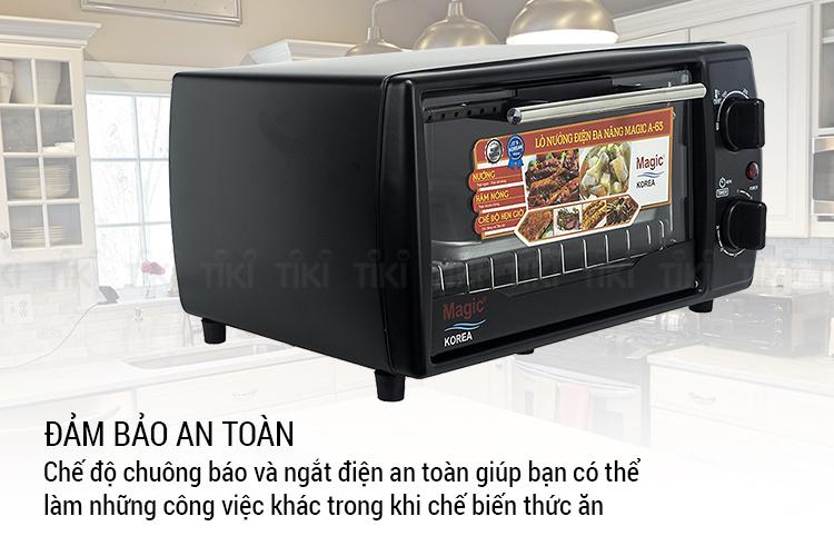 Lò Nướng Điện Đa Năng Magic Korea A63 (12 lít) - Hàng chính hãng