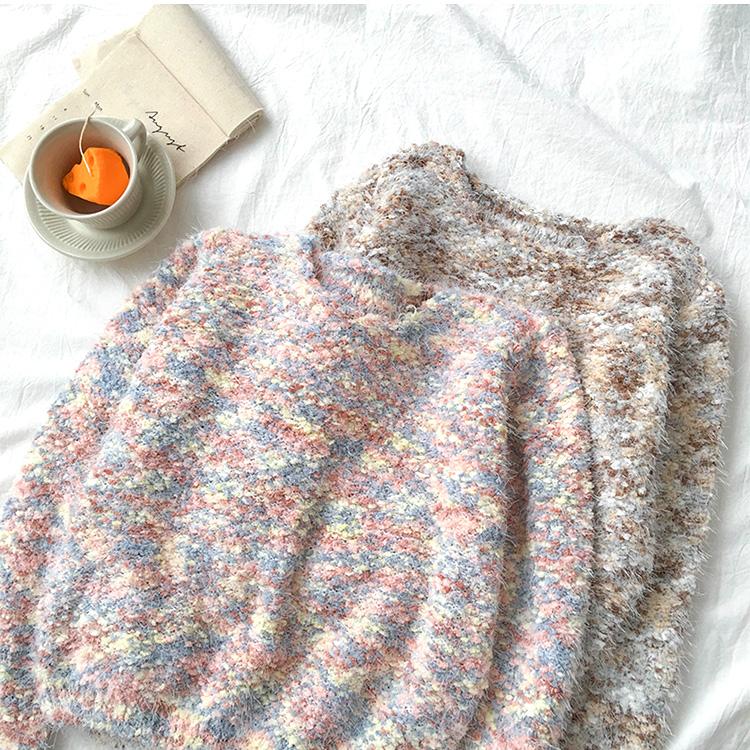 Áo Len màu pastel Thu Đông Thời Trang 2