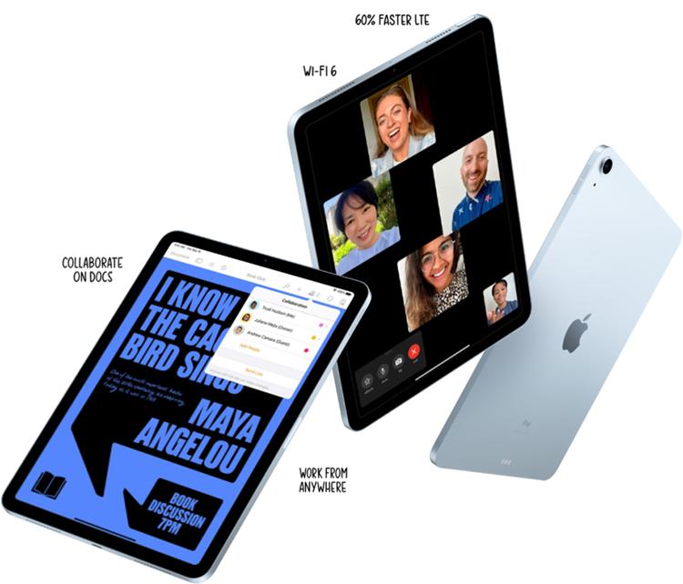 iPad Air 10.9 Wi-Fi 64GB New 2020 - Hàng Nhập Khẩu Chính Hãng