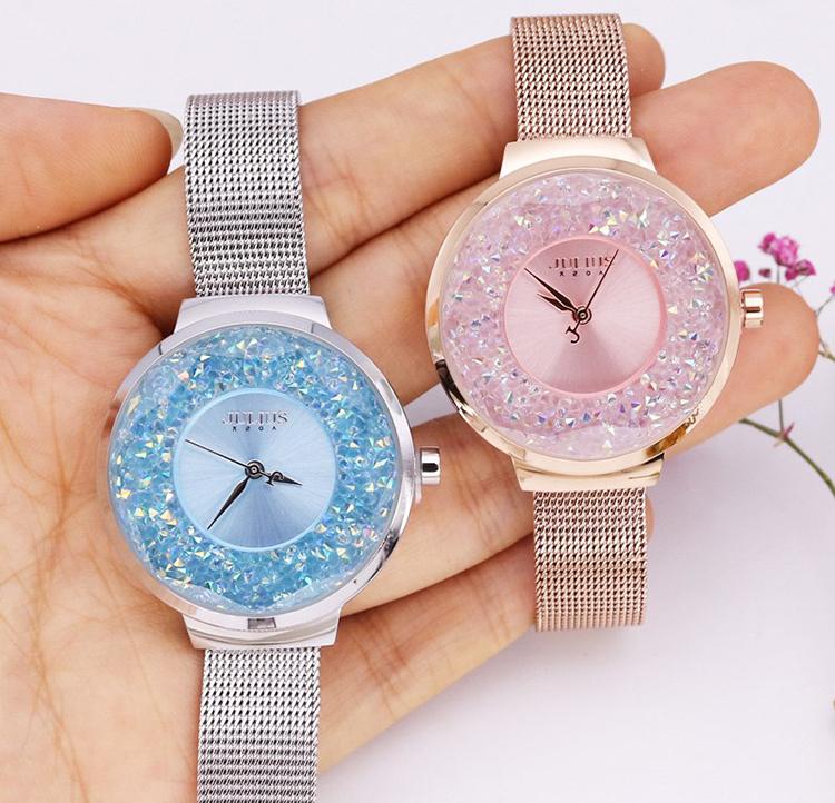 Đồng hồ nữ Julius JA-1111A (Bạc)