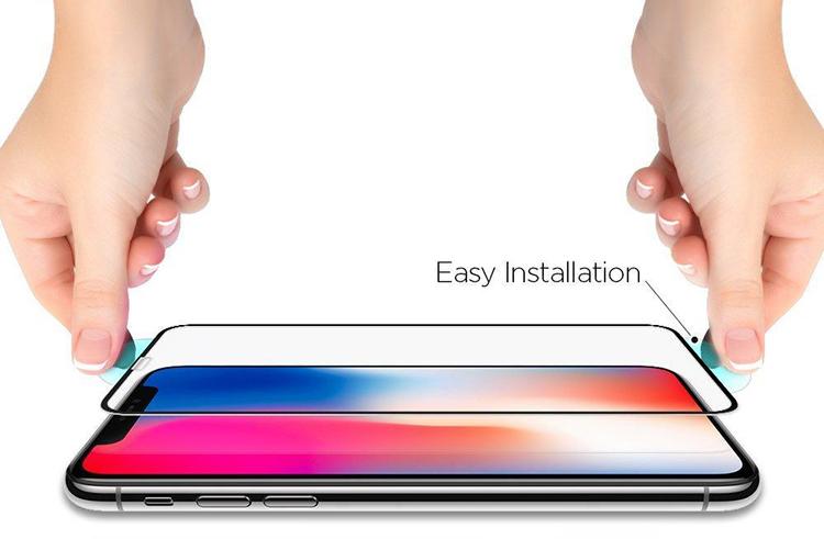 Kính Cường Lực Spigen Full Màn Hình iPhone Xs Max
