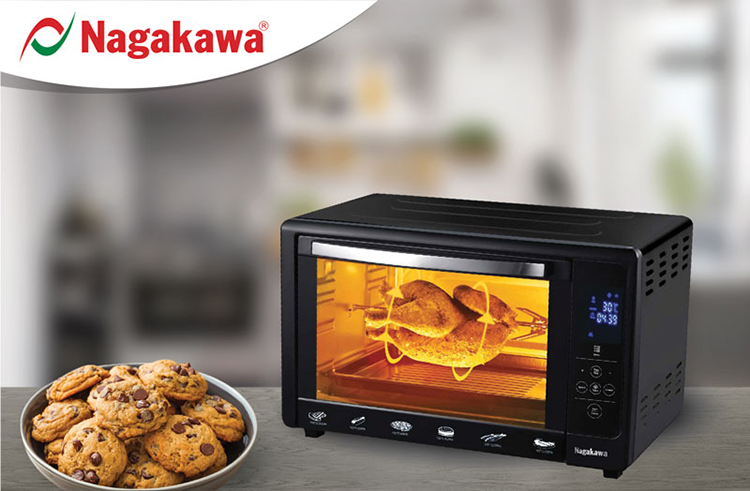 Lò Nướng Nagakawa NAG3248A (48 Lít) - Hàng Chính Hãng