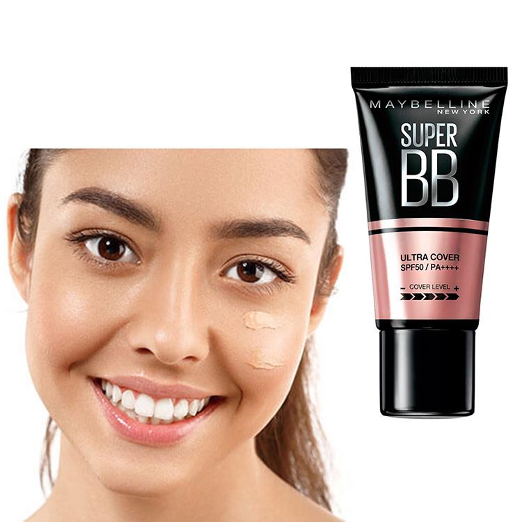 Kem Nền Maybelline Super BB Ultra Cream Cover SPF50 PA++++ 30ml Trang Điểm Hoàn Hảo PM711 17