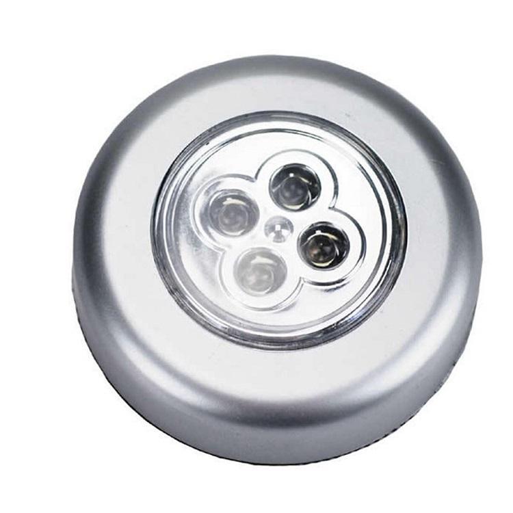 Đồng hồ đếm ngược 4 kênh, dùng pin cúc áo tặng kèm đèn 4 led dán tường , dán ô tô 7