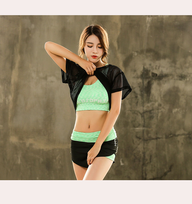 Set Bộ 3 đồ quần áo thun thể thao nữ áo ngoài zen năng động ( Đồ Tập Gym, Yoga, Aerobic ) mã 8808 5