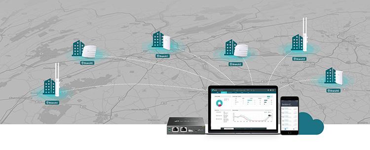 Access Point Gắn Trần Wi-Fi Băng Tần Kép Gigabit AC1750 TP-LINK EAP245 - Hàng Chính Hãng
