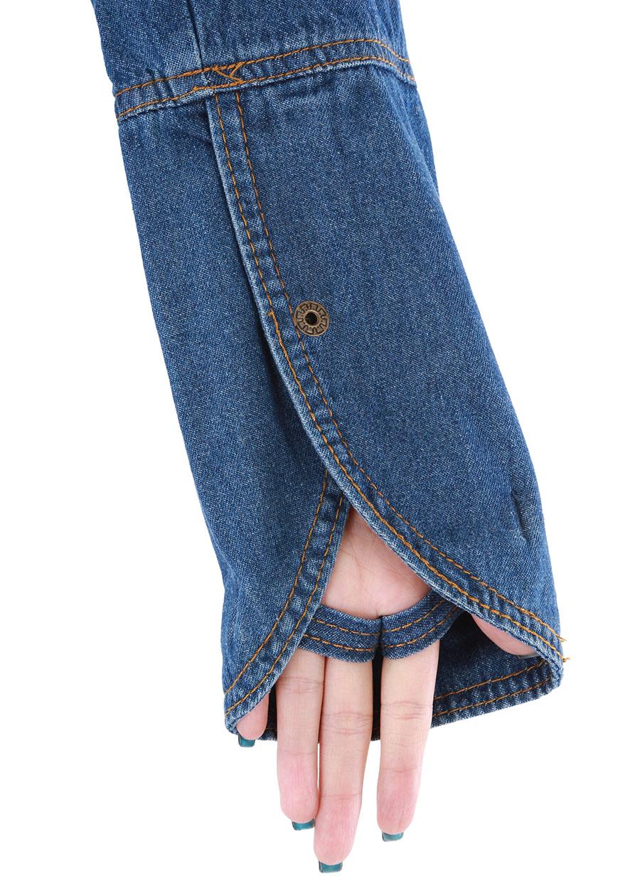 Áo chống Nắng Jean 2 lớp lót cotton Vietcharm ACN02