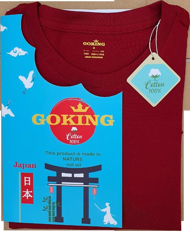 Combo 2 áo thun nữ thoát nhiệt Nhật Bản GOKING, form ôm tôn dáng, 100% cotton thoáng mát, thấm hút mồ hôi 6