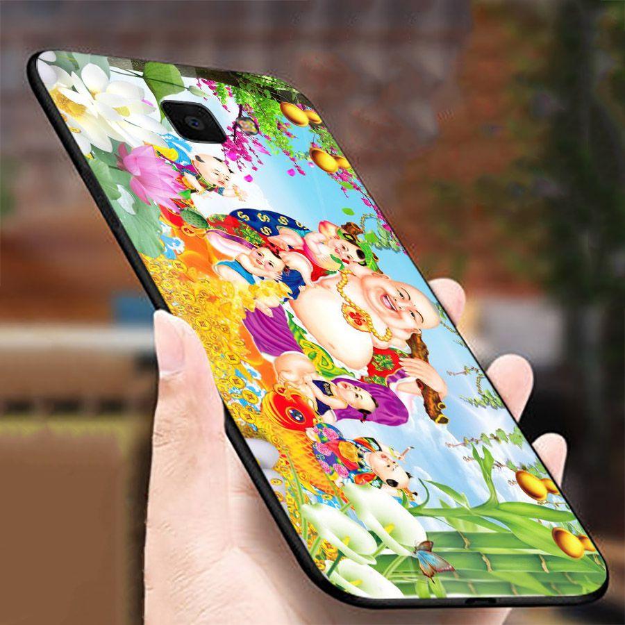 Ốp kính cường lực cho điện thoại Samsung Galaxy A50 - thần tài kim MS TTKIM020