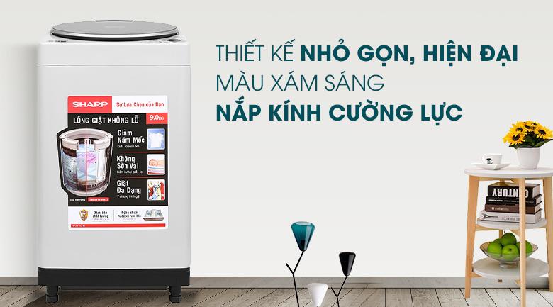 Máy giặt Sharp 9 kg ES-W90PV-H - Chỉ giao HCM