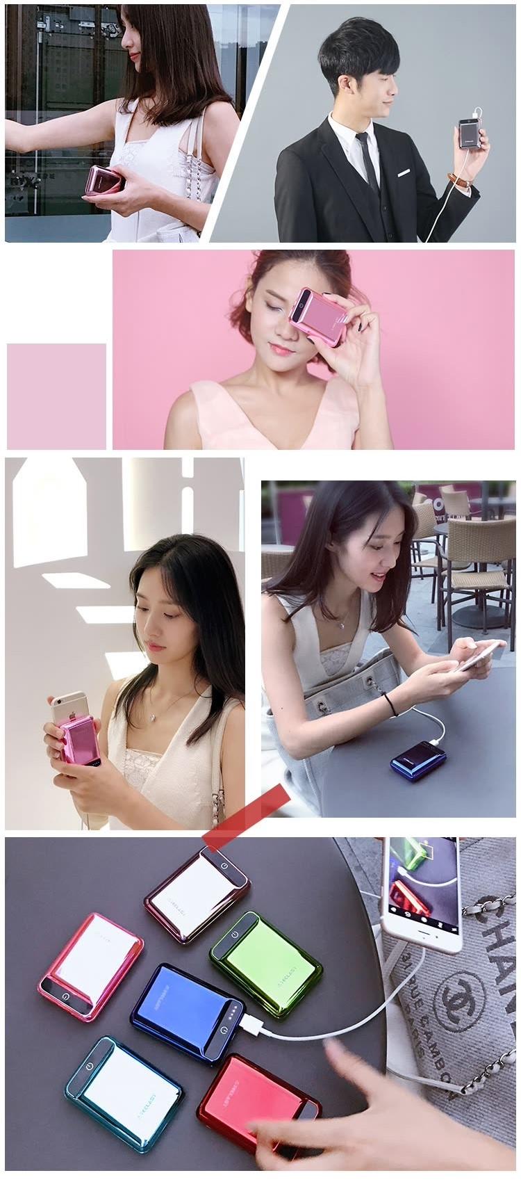 Sạc Dự Phòng Mini 10000 mAh 2.1A Cho Android/Apple Taipower A10-F