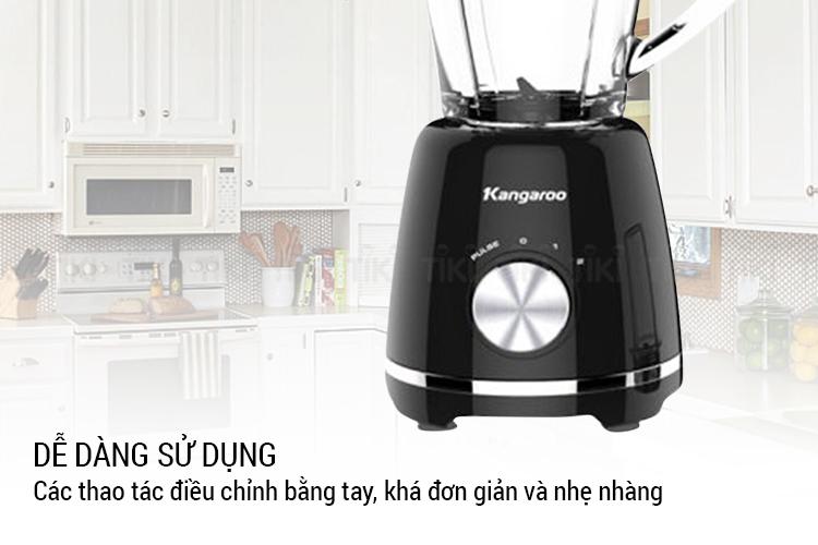 Máy Xay Sinh Tố Đa Năng 2 Cối Kangaroo KG2B9 (500W - 1.5 Lít) - Hàng Chính Hãng