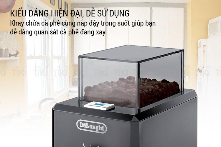 Máy Xay Cà Phê DeLonghi KG79 – Đen - Hàng Chính Hãng