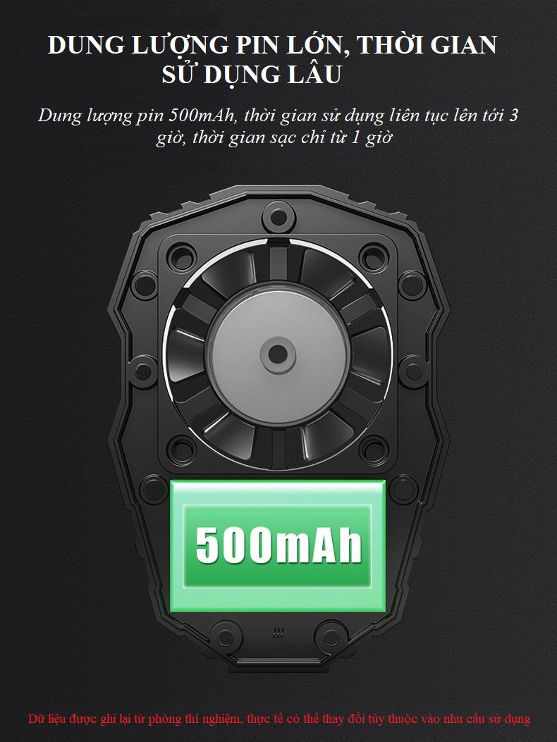 Tản nhiệt chuyên dụng cho game thủ F1 - Dành cho điện thoại 10