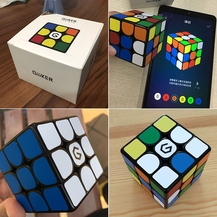 Xiaomi Mijia Giiker M3 Magnetic Cube Puzzle 3x3x3 5.65cm Speed Professional Square Magic Cube Puzzles Colorful For Man